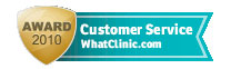 Customer Service Award 2010 - WhatClinic.com