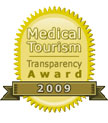 Medical Tourism Transparency Award 2009 - Healthcare Excellence International Awardee